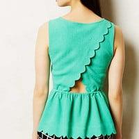 Clovelly Peplum Top