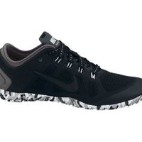 The Nike Free Bionic Black Pack Women's Training Shoe.