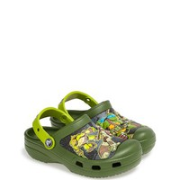 Toddler Boy's CROCS 'Teenage Mutant Ninja Turtles' Slip-On