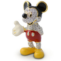 Mickey Mouse Figurine by Arribas - Jeweled