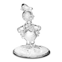 Donald Duck Glass Figurine by Arribas Brothers