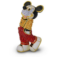 Cool Mickey Mouse Figurine by Arribas - Jeweled