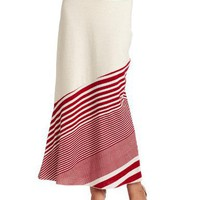 Testament Women`s Stripe Maxi Skirt