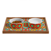 Lisa Argyropoulos Bohemia Summer Nights Pet Bowl and Tray