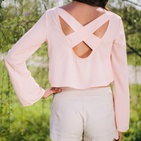 Blushing Belle Crop Top