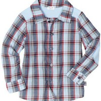 Splendid Littles Toddler Boys Lawn Plaid Buttoned Down Shirt