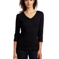 Red Dot Women's Deep V Neck Top
