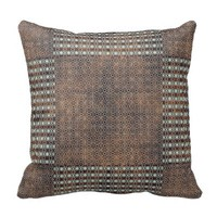 Touch Of Brown Pillow