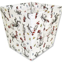 Trend Lab Dr. Seuss Fabric Storage Bin, Cat In The Hat Medium