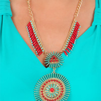 River Runs Wild Necklace: Multi