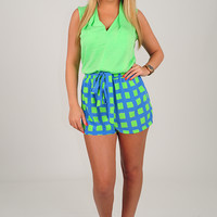 Hope For The Best Top: Lime Green
