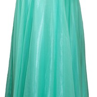 Meier Women's Strapless Sweetheart Rhineston Formal Prom Dress