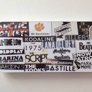 Band Logos iPhone Case