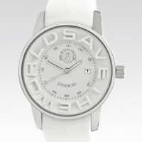 Clean Spirited | Jewelry | Watches |The Peace Watch - White
