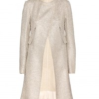 SEQUINNED TWEED COAT