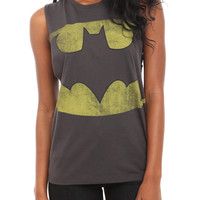 DC Comics Batman Deep Sleeve Girls Tank Top