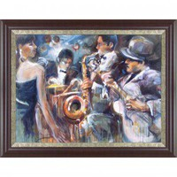 New Century Picture All About Jazz Wall Art - PI 60202 Set - All Wall Art - Wall Art & Coverings - Decor