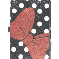 Minnie Mouse™ Bow iPhone 5 Wallet | Wet Seal
