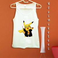 pikachu harry potter-Tank Top design