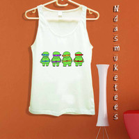 Kids Teenage Mutant Ninja Turtles Team-Tank Top design