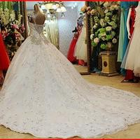 YZ New Arrival Gorgeous Luxurious Swarovski Crystals Bridal Wedding Dress VNXV from YZ Fashion Bridal