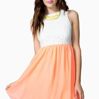 Sunny Days Lace Dress