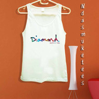 diamond supply-Tank Top design