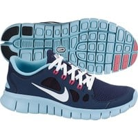 Nike Girls' Grade School Free 5.0 Running Shoe - Blue/White | DICK'S Sporting Goods
