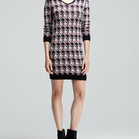 Rag & Bone Mariah Printed Sweater Dress