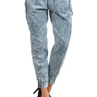 Sally Distressed Harem Pants