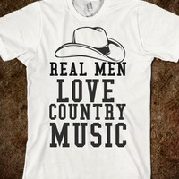 REAL MEN LOVE MUSIC - glamfoxx.com - Skreened T-shirts, Organic Shirts, Hoodies, Kids Tees, Baby One-Pieces and Tote Bags