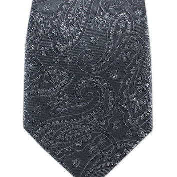 Platform Paisley - Charcoal (Skinny) from TheTieBar.com - Wear Your Good Tie Everyday