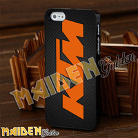 KTM Logo Motocross for iPhone 4/4s/5/5s/5c - iPod 4/5 - Samsung Galaxy s3 i9300/s4 i9500 Case
