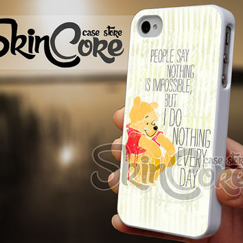 I Do Nothing Every Day - iPhone 4/4s/5/5s/5c - iPod 4/5 - Samsung Galaxy s3 i9300/ s4 i9500 Case
