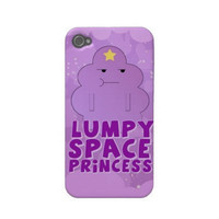 Adventure Time Lumpy Space Princess iPhone 4/4s by SherrysStock