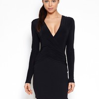 Hedonia April Longsleeved Wrap Dress