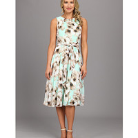 Jessica Howard Shirred Neck Belted Maxi