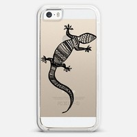 Tribal Gecko - Transparent/Clear Background | Design your own iPhonecase and Samsungcase using Instagram photos at Casetagram.com