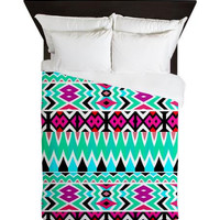 Tribal Queen Duvet Cover - Mix #567 - Ornaart Design