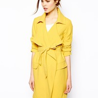 Warehouse Draped Trench