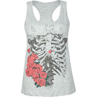 FULL TILT Rose Ribs Womens Tank | Tillys.com