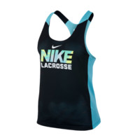 Nike Women's Reverible Tank - Blue/Black | Lacrosse Unlimited