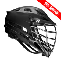 Cascade R Helmet Black/Chrome | Lacrosse Unlimited