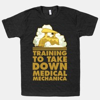 Training to Take Down Medical Mechanica