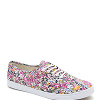 Vans Authentic Lo Pro Floral Sneakers - Womens Shoes - Floral