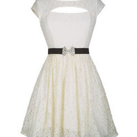 Cutout Lace Party Dress