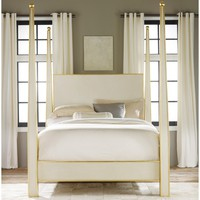 Modern History Home Abstract Bed
