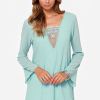 Day in Dreamland Light Blue Dress
