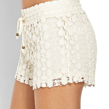 Free Spirit Crochet Shorts