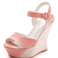 Jana Ombre Wedge Sandals